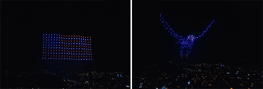 Drone Light LED Show